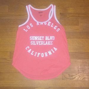 Sunset Boulevard California tank (boner top)